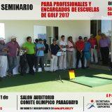 IV Seminario para Profesionales y Encargados de Escuelas de Golf 2017