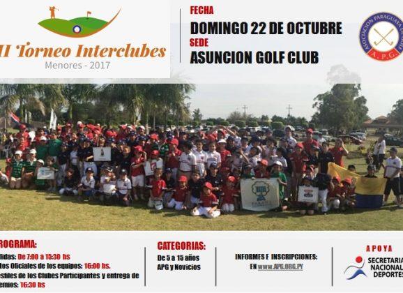III Torneo Interclubes de Golf de Menores 2017