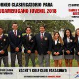 Clasificatorio para Sudamericano Juvenil