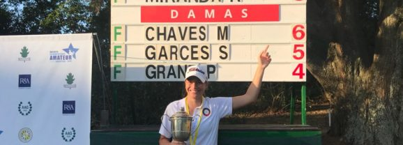 Milagros Chaves – Campeona Sudamericana Amateur