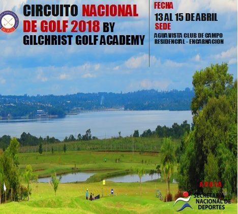 Circuito Nacional de Golf -3ra Fecha Mayores y 4ta Menores