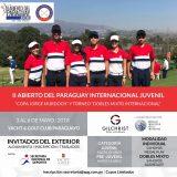 II Abierto del Paraguay Juvenil Copa Jorge Murdoch y Dobles Mixto Internacional