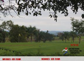 Circuito Nacional de Golf -4ta Fecha Mayores y 6ta Menores