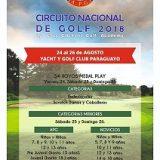 Circuito Nacional de Golf – 8va Menores y 6ta Mayores – YGCP