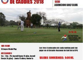Circuito Nacional de Caddies 2018 – 1ra Fecha