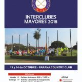TORNEO INTERCLUBES 2018