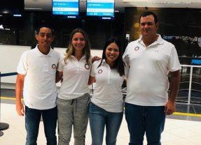 Copas Internacionales Fay Crocker y Guillermo Armas