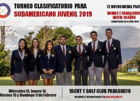 Clasificatorio para Sudamericano Juvenil 2019