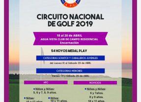 Circuito Nacional de Mayores y Menores 2019 – 4ta Fecha