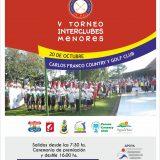 V Torneo Interclubes de Menores 2019 – CFCGC