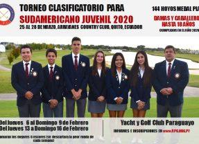 Clasificatorio para Sudamericano Juvenil 2020