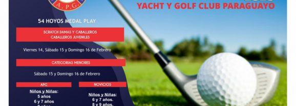 Circuito Nacional de Mayores y Menores 2020 – 1ra Fecha – YGCP