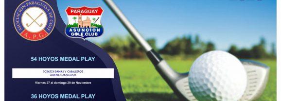 Circuito Nacional de Golf – Mayores y Menores – AGC